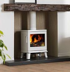 ACR Birchdale Elegance-White Enamel fireplace