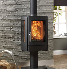 ACR Neo 3 Pedestal fireplace