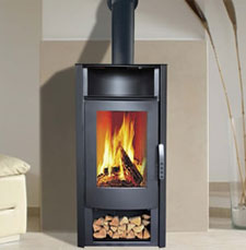 Aries CWF-100 fireplace