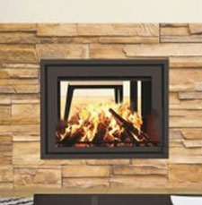 Canature Taurus SI Double Sided fireplace