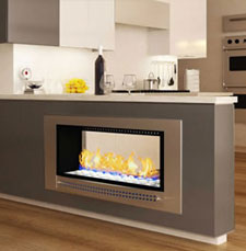 Double Sided Fireplace VFDS 1000